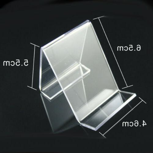 5pcs Clear Acrylic Mount Display For US