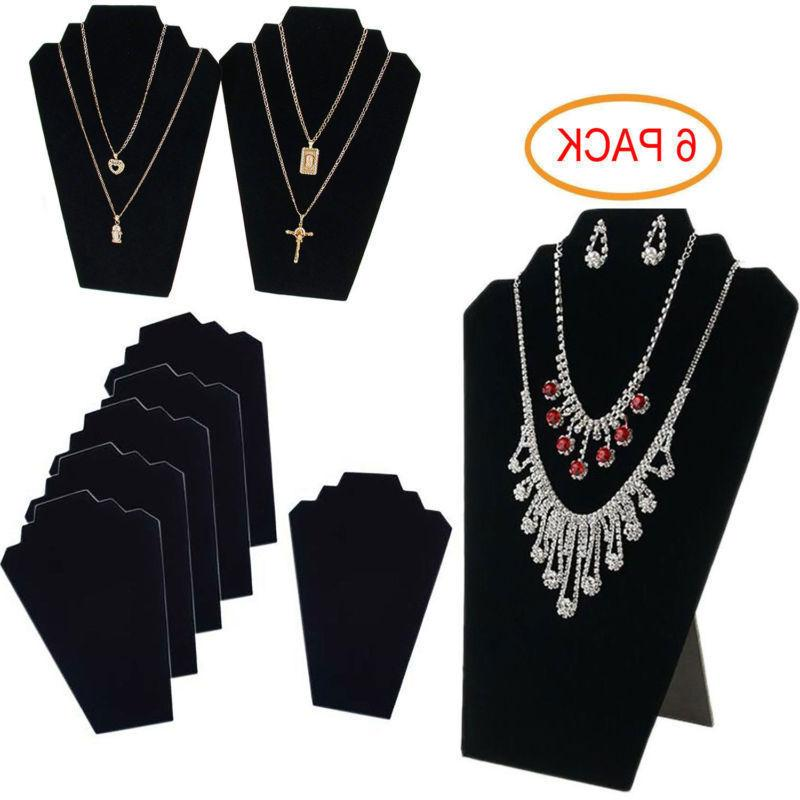 6 NECKLACE DISPLAY STAND Pendant