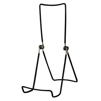 GIBSON HOLDERS 6AC 3-Wire Display Stand Edge, Black, 4-Pack