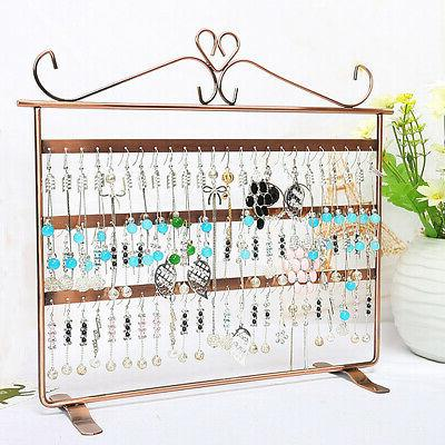 72 holes earring jewelry necklace display rack
