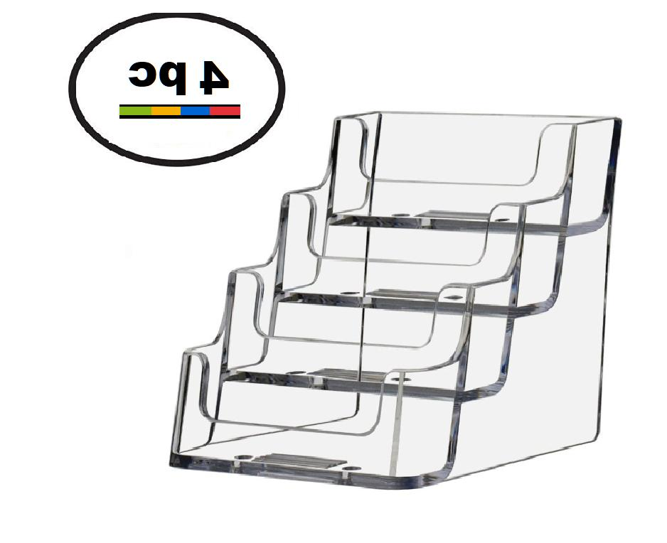 8 Acrylic Plastic Business Card Holder Displays Deflecto Sty