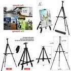 """Artist Easel Stand 21"""" To 66"""" Aluminum Metal Tripod Display"""