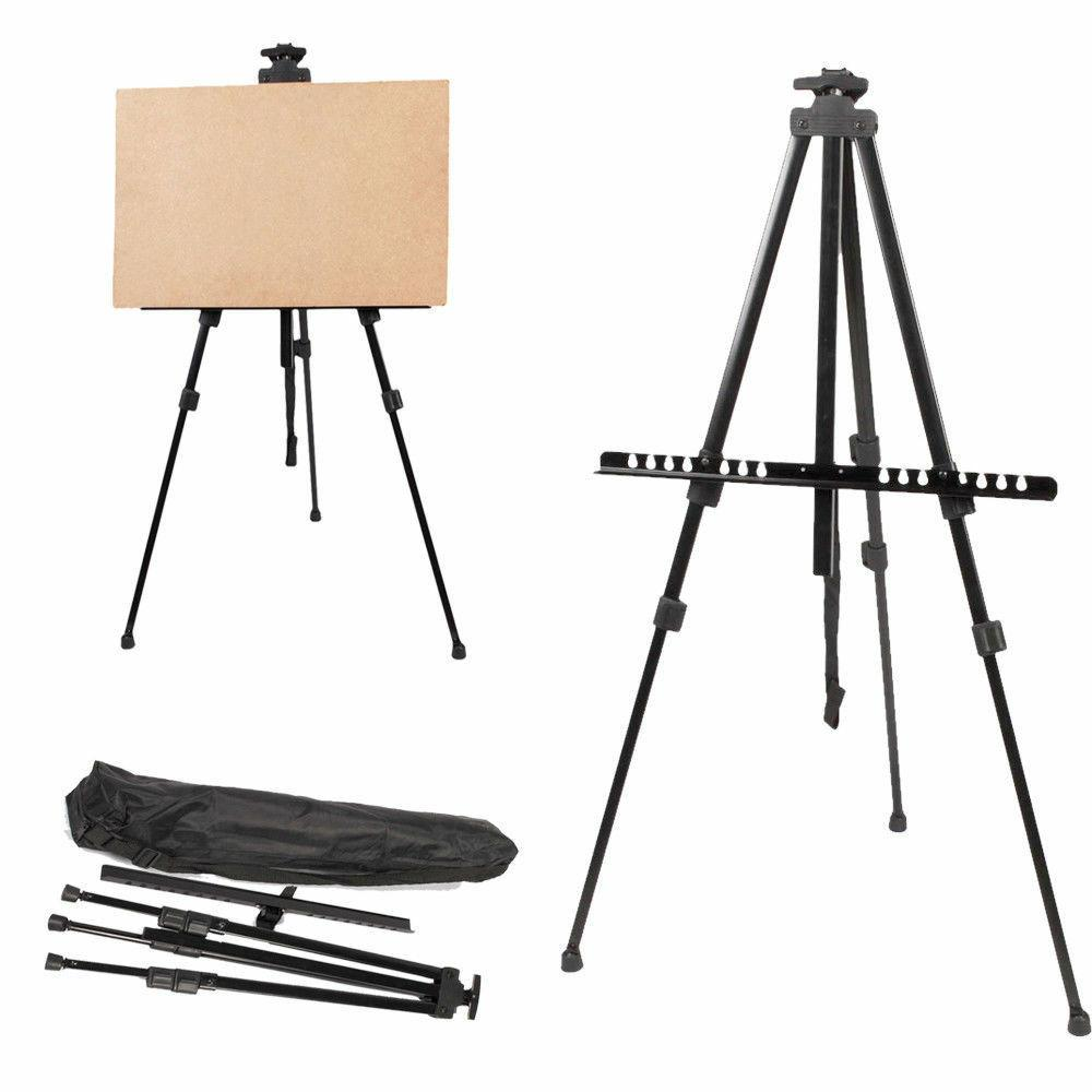 Artist Folding Painting Easel Adjustable Tripod Display Stan