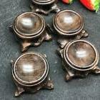 2 PCS Branch Wood Display Stand Base For Crystal Ball Sphere