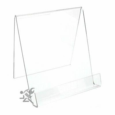 Book Clear Acrylic Display Stand Easel Holders for Items up
