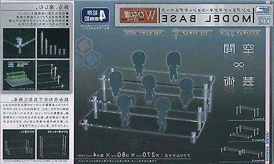 Clear Acrylic Display Stand Model Base in any combination fi