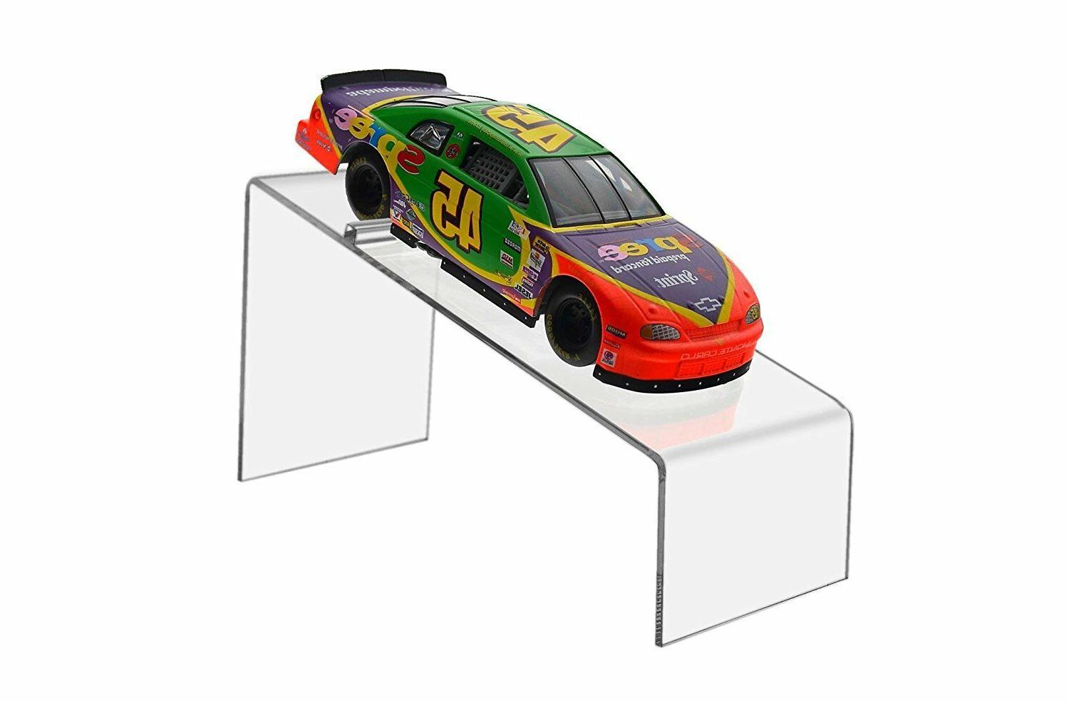 Collectible Display Stand for Models Diecast Cars Clear Acry