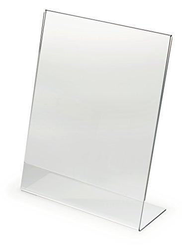 Displays2go Set of 25, Clear Acrylic Display Frames for  8-1