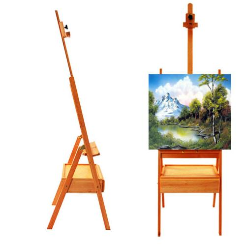 Telescoping Tripod Painting Artist Easel Display Stand Drawi