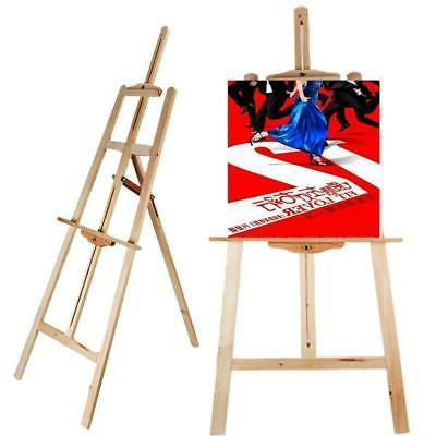 Hot Wood Wooden Sketch Easel Artist Painter Stand lyre Floor