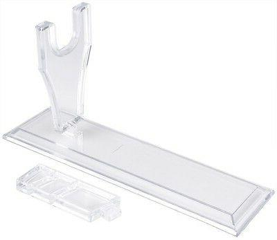 Plastic Display Stand Clear Model Showing Holding Rack For A