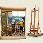 Portable Artist Durable Wooden Easel 360 H-Frame W/Caster Pa
