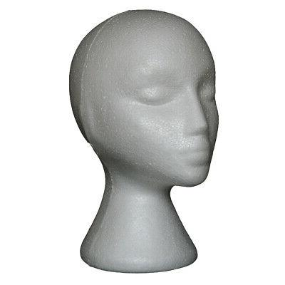 Abstract Mannequin Head Wig Hair Glasses Stand USA