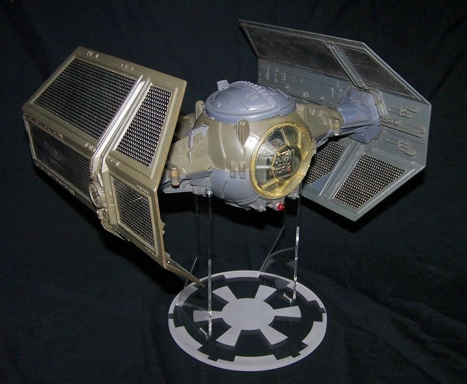 acrylic stand for Kenner Tie Fighter