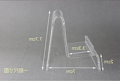 10 Acrylic Stand &Purse Stand Holder