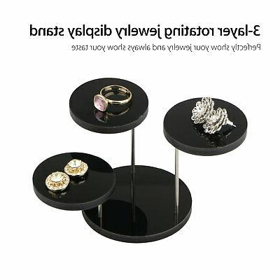 Acrylic Earrings Necklace Display Rack Stand Holder Display US