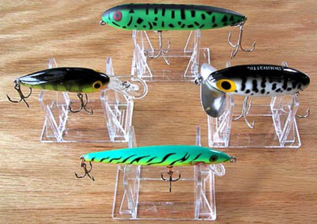 ~#Adjustable 3 Part Display Stand Easel Holder Fishing Lures