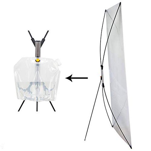 """Premium X Stand Portable Tripod Store Fits for with The 23""""x63"""" to 31""""x71"""""""