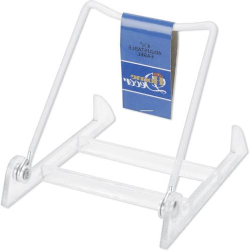 "Adjustable Easel 4.5""-White"