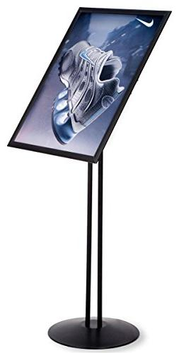 Displays2go Height-Adjustable Poster Stand for 18 x 24 Inche
