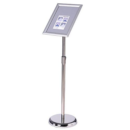 aluminum poster stand profile mitred