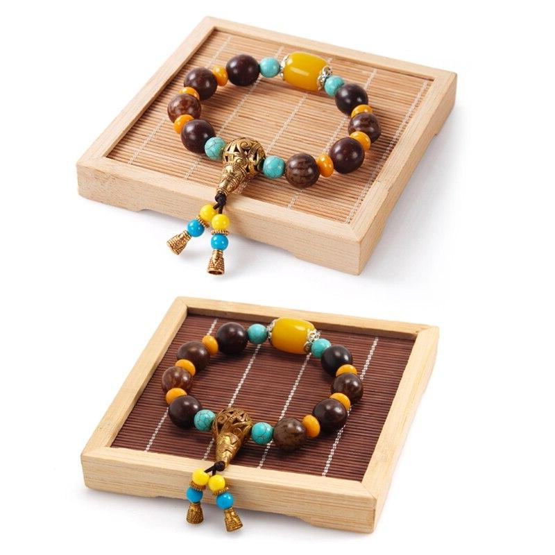 Bamboo Necklace Jewelry <font><b>Stand</b></font> Showcase Charm Boutique