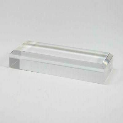 """1"""" Clear Display Stand Crystal, Ball,"""