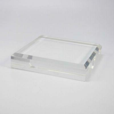 """1"""" Thick Clear Display Stand Crystal,"""