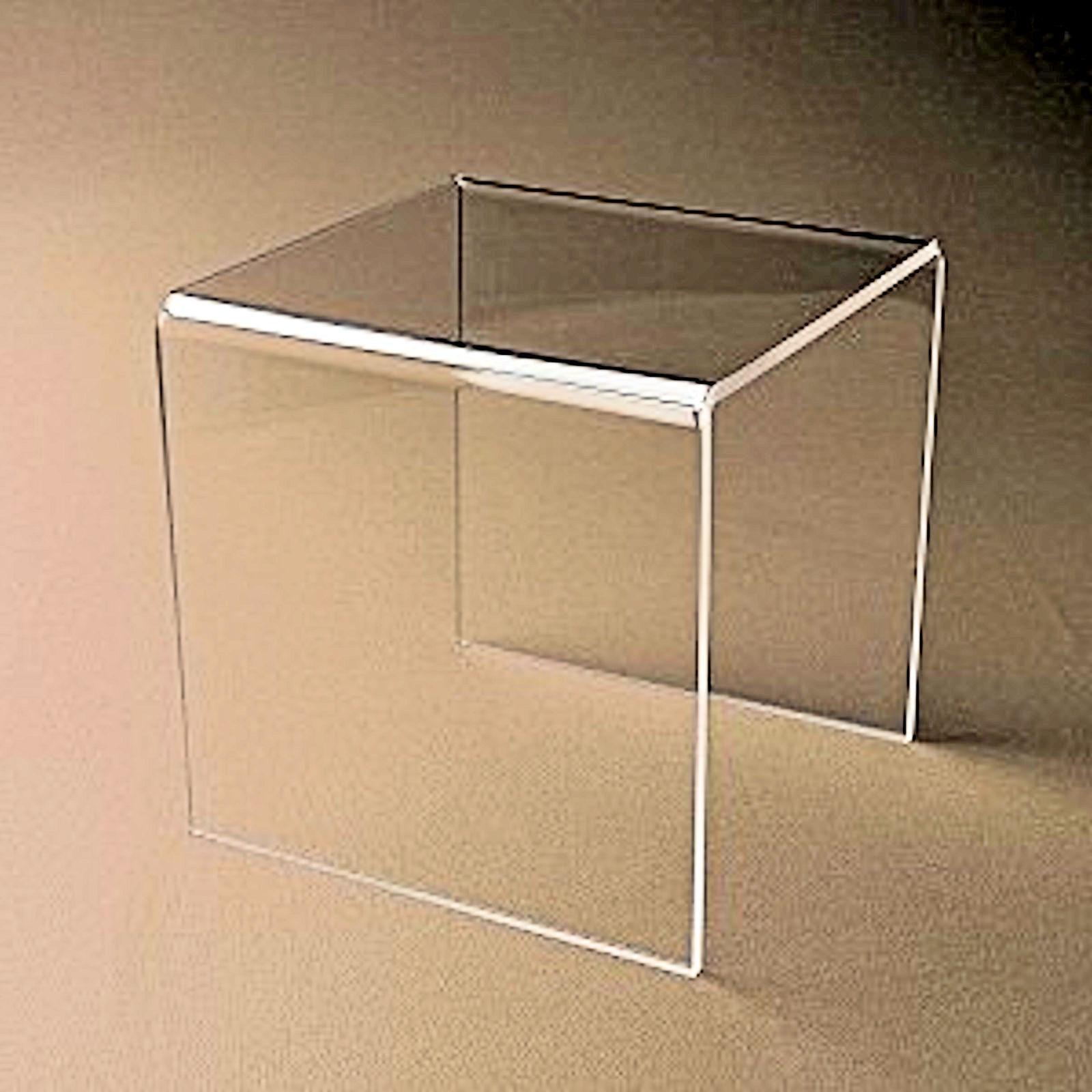 """~#5"""" 5"""" Clear Acrylic / Plastic Stand Pedestal"""