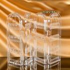 Clear Earrings Necklace Organizer Jewelry Accessories Rack S