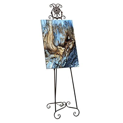 deluxe metal display easel tall