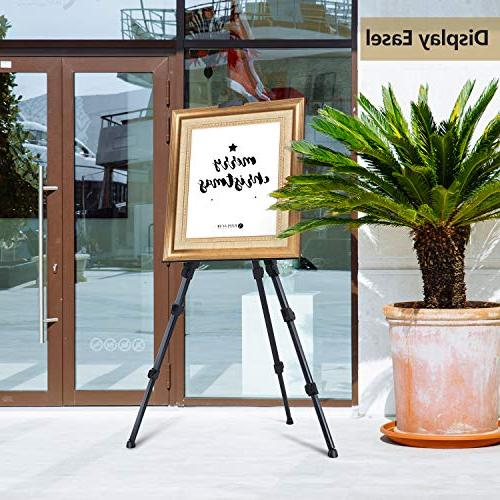 """Display Easel 72"""" Aluminum Metal Field Easel Bag Art from for Poster, Paint to"""