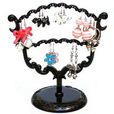 display jewelry tree stand holder rack earring