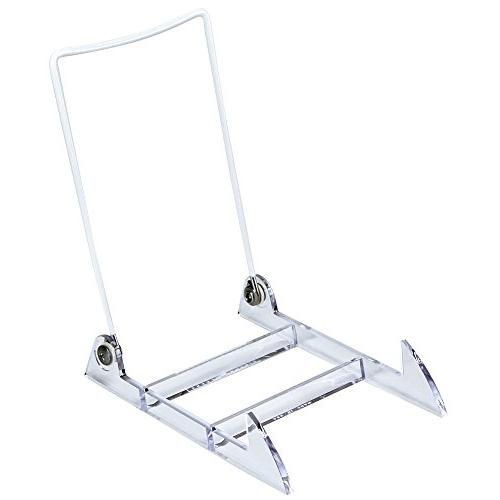 Large Display Stand Easel With Clear Base