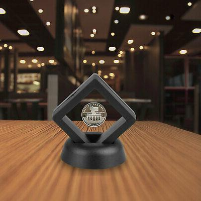 Display Stand Floating Coin Medal ANY Holder Display Case Pack