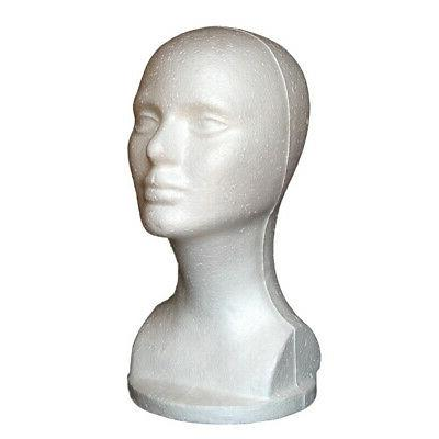 Female Foam Mannequin Head Hat Jewelry Display USA
