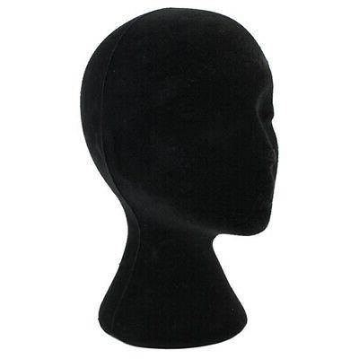 Female Male Head Headset Wig Display Stand DEN