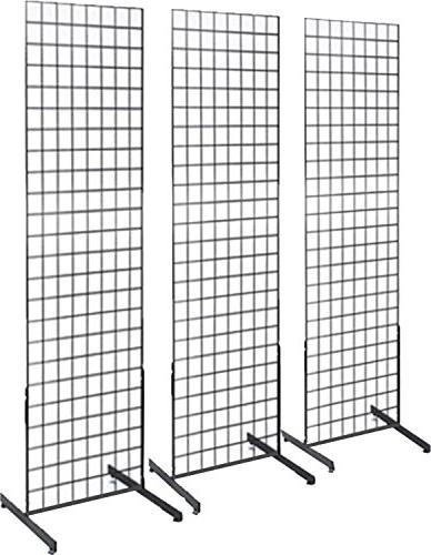 garment racks gridwall panel tower