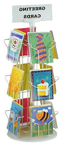 Greeting Card Racks with  5 x 7 Pockets for Counter Displays