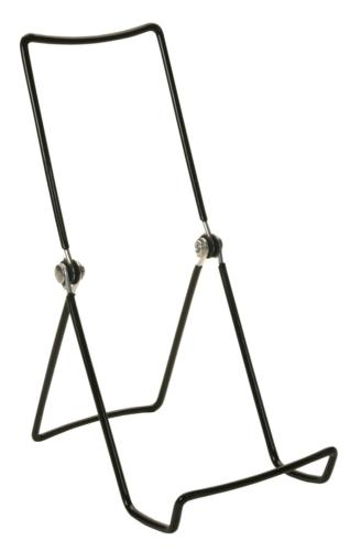 GIBSON HOLDERS 6AC 3-Wire Display Stand with Deep Edge, Blac