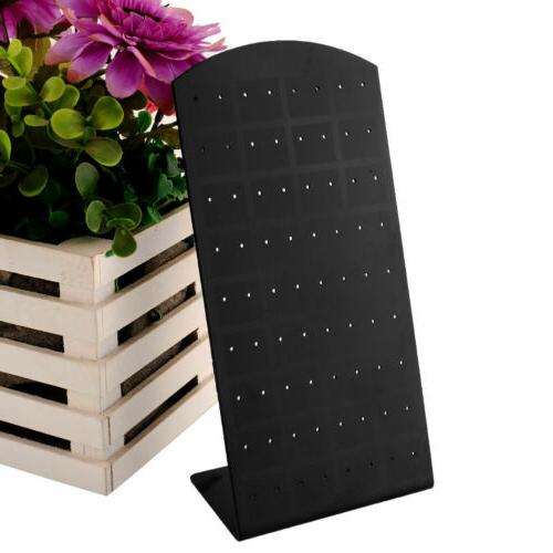 Hot 72 holes Earrings Display Stand Organizer Holder