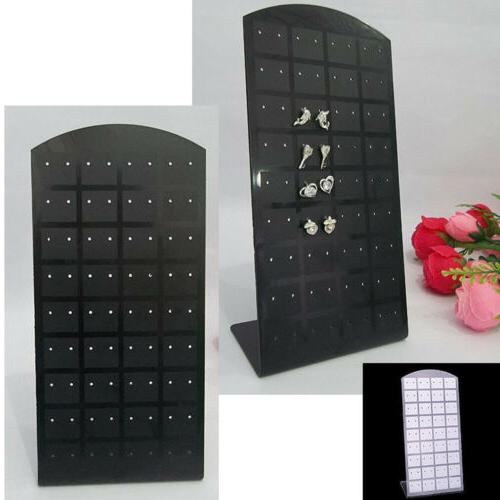 hot 72 holes earrings display stand organizer