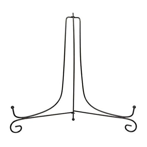 iron display stand easel