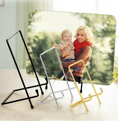 Iron Display Stand Iron Easel Strut Plate Display Photo Hold