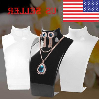 jewelry necklace earrings mannequin bust display stand