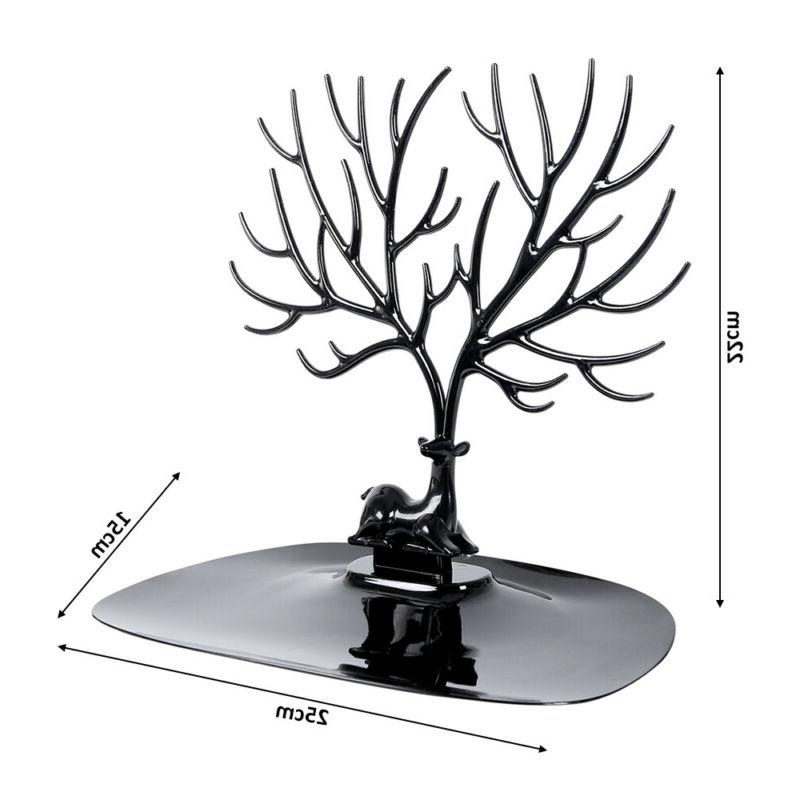 Jewelry Tree Stand Organizer Necklace Hanger Holder Rack