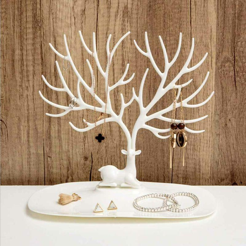 Jewelry Tree Organizer Earring Necklace Hanger Holder