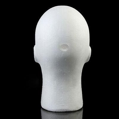 Male Manikin Head Glasses Hat Display