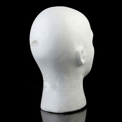 Male Mannequin Foam Manikin Head Model
