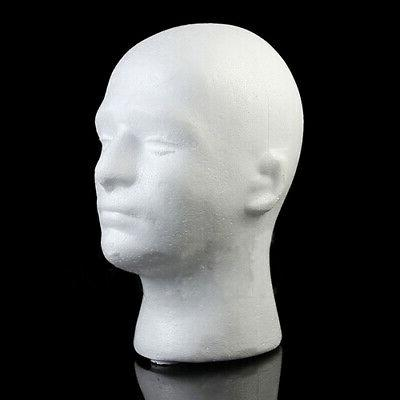 male mannequin styrofoam foam manikin head model